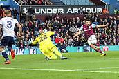12th September 2017, Villa Park, Birmingham, England; EFL Championship football, Aston Villa versus Middlesbrough; Robert Snodgrass of Aston Villa gets close range shot on the Middlesbrough goal