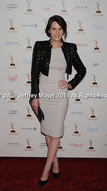WEST HOLLYWOOD, CA - SEPTEMBER 16: Michelle Dockery attends the 63rd Annual Emmy Awards Performers Nominee Reception held at the Pacific Design Center on September 16, 2011 in West Hollywood, California.