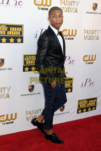 LOS ANGELES, CA - JANUARY 16 - Pharrell Williams. 19th Annual Critics' Choice Movie Awards held at Barker Hangar.<br /> CAP/ADM/BP<br /> &copy;Byron Purvis/AdMedia/Capital Pictures