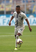 Calcio, Serie A: Inter Milano-Parma, Giuseppe Meazza stadium, September 15, 2018.<br /> Inter's D'Albert in action during the Italian Serie A football match between Inter and Parma at Giuseppe Meazza (San Siro) stadium, September 15, 2018.<br /> UPDATE IMAGES PRESS/Isabella Bonotto