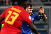 Nicolo Barella of Italy looks on<br /> Reggio Emilia 22-06-2019 Stadio Città del Tricolore <br /> Football UEFA Under 21 Championship Italy 2019<br /> Group Stage - Final Tournament Group A<br /> Belgium - Italy<br /> Photo Cesare Purini / Insidefoto