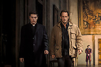 L'apparition (2018) <br /> (The Apparition)<br /> Vincent Lindon<br /> *Filmstill - Editorial Use Only*<br /> CAP/KFS<br /> Image supplied by Capital Pictures