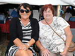 Geraldine Dolan and Margaret Healy from Togher pictured at the Viking festival in Annagassan. Photo: www.pressphotos.ie