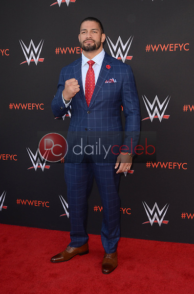 Roman Reigns<br /> at the WWE EMMY For Your Consideration Event, Saban Media Center, North Hollywood, CA 06-06-18<br /> David Edwards/Dailyceleb.com 818-249-4998