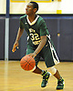 Tyler Small #32 of Holy Trinity dribbles during a varsity boys' basketball game against Hempstead at Baldwin High School on Tuesday, Dec. 29, 2015. Holy Trinity won by a score of 70-58.