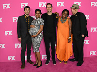 06 August 2019 - Beverly Hills, California - Carter Hudson, Angela Lewis, Dave Andron, Michael Hyatt, Walter Mosley. 2019 FX Networks Summer TCA held at Beverly Hilton Hotel.    <br /> CAP/ADM/BT<br /> ©BT/ADM/Capital Pictures