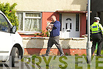 Inspectors from the Kerry society of prevention of cruelty to animals and Gardai remove four dead Goats and one baby goat that was found alive from a house in Balloonagh estate on Monday evening.