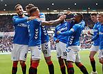 28.04.2019 Rangers v Aberdeen: Rangers celebrate