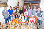 Rachel Fitzpatrick from Newmarket enjoying her birthday with family and friends. front l-r  Rian O'Keeffe, Saoirse Fitzpatrick, Rachel Fitzpatrick, Clodagh O'Keeffe, Martina Brassil, back l-r  Fergal Barry, Matthew Fitzpatrick, Mairead O'Keeffe, Ricky O'Keeffe, Helena Fitzpatrick, Barry, Claire Fitzpatrick, Matt Fitzpatrick, Aaron Brassil, Tom Fleming, Damian Brassil and Denis Fitzpatrick