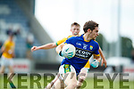 Tomás Ó Sé Kerry in action against  Meath in the All Ireland Junior Football Final at O'Moore Park, Portlaoise on Saturday.