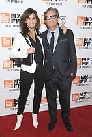 NEW YORK, NY - OCTOBER 11: Gina Gershon and Director Griffin Dunne attend the 55th NYFF World Premiere of &quot;Joan Didion: The Center Will Not Hold &quot; at Alice Tully Hall on October 11, 2017 in New York City. <br /> CAP/MPI/JP<br /> &copy;JP/MPI/Capital Pictures