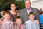 Listowel Races on Saturday: Attending Listowel races on Saturday last were in front Paddy, Tom & Alan Foley with their parents Eleanor & Donal Foley, Ballybunion.