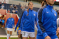 Chicago, IL - Wednesday Sept. 07, 2016: Brittany Taylor prior to a regular season National Women's Soccer League (NWSL) match between the Chicago Red Stars and FC Kansas City at Toyota Park.