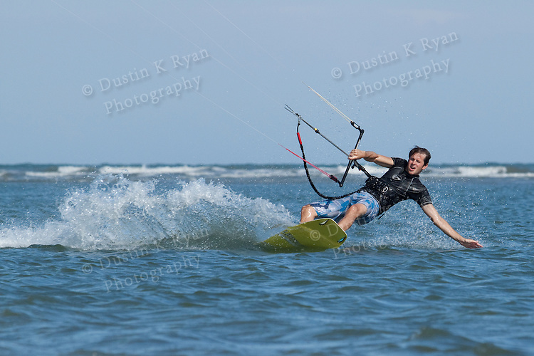 Kiteboarding on Sullivans Island South Carolina
