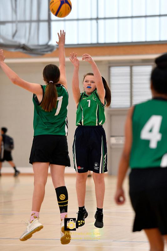 Basketball – CSW 3×3 Junior Tournament at Walter Nash Centre, Lower Hutt, New Zealand on Tuesday 6 November 2018. <br /> Photo by Masanori Udagawa. <br /> www.photowellington.photoshelter.com