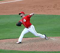 Brandon Finnegan - Cincinnati Reds 2020 spring training (Bill Mitchell)
