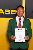 Rugby League winner Eko Malu from Aorere College. ASB College Sport Young Sportsperson of the Year Awards held at Eden Park, Auckland, on November 24th 2011.