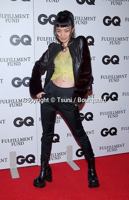 Bai Ling arriving at the GQ magazine 3rd annual MOVIE ISSUE to benefit the fulfillement Fund serving the disadvantaged students in Los Angeles. The event was at the Sunset Room In Los Angeles. February 20, 2002.