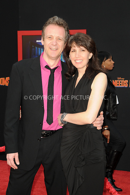 WWW.ACEPIXS.COM . . . . . ....March 6 2011, Los Angles....Director Simon Wells (L) and writer Wendy Wells arriving at the Premiere of Walt Disney Pictures' 'Mars Needs Moms' at the El Capitan Theatre on March 6, 2011 in Hollywood, California.....Please byline: PETER WEST - ACEPIXS.COM....Ace Pictures, Inc:  ..(212) 243-8787 or (646) 679 0430..e-mail: picturedesk@acepixs.com..web: http://www.acepixs.com