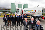 Kingdom Oil, O'Keeffe's Oil Tralee Depot  official Opening Pictured Kieran O'Keeffe, Director, Neil McCarthy, Esso <br /> Ireland Ltd, John D O'Keeffe with staff on Wednesday