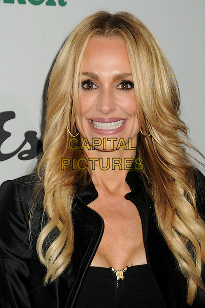 "TAYLOR ARMSTRONG.Oxfam America and Esquire House LA Host ""The Oxfam Party"" held at Esquire House LA, Los Angeles, California, USA, .18th November 2010..portrait headshot  black smiling .CAP/ADM/BP.©Byron Purvis/AdMedia/Capital Pictures."