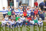 LUCKY SEVENS: The Tralee under 7 team and coaches at the annual awards presentations at O'Dowd Park, Clahane on Saturday.   Copyright Kerry's Eye 2008