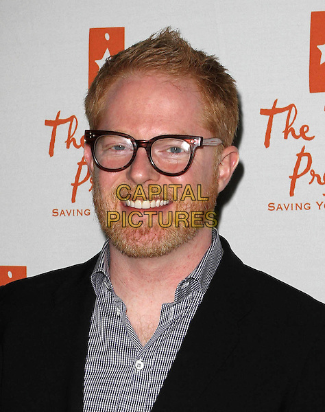 JESSE TYLER FERGUSON .Trevor Live Benefiting The Trevor Project held At The Hollywood Palladium, Hollywood, CA, USA,.5th December 2010..portrait headshot smiling beard facial hair black jacket glasses.CAP/ADM/KB.©Kevan Brooks/AdMedia/Capital Pictures.