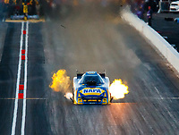 Feb 24, 2018; Chandler, AZ, USA; NHRA funny car driver Ron Capps during qualifying for the Arizona Nationals at Wild Horse Pass Motorsports Park. Mandatory Credit: Mark J. Rebilas-USA TODAY Sports