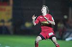Liam Williams..Heineken Cup.Scarlets v Munster.Parc y Scarlets.10.12.11.©Steve Pope