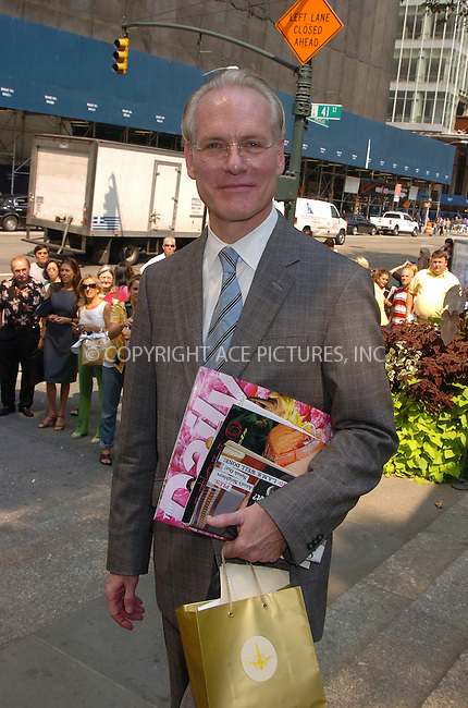 WWW.ACEPIXS.COM . . . . .  ....September 7, 2007. New York City,....Tim Gunn attends the Mercedes Benz Fashion Week shows held at Bryant Park in New York City.......Please byline: AJ Sokalner - ACEPIXS.COM.... *** ***..Ace Pictures, Inc:  ..Philip Vaughan (646) 769 0430..e-mail: info@acepixs.com..web: http://www.acepixs.com
