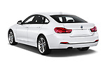 Car pictures of rear three quarter view of a 2018 BMW 4 Series Gran Coupe 430i 5 Door Hatchback angular rear