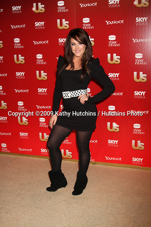 Lacey Schwimmer.arriving at the 2009 US Weekly Hot Hollywood Party.Voyeur.West Hiollywood,  CA.November 18, 2009.©2009 Kathy Hutchins / Hutchins Photo.
