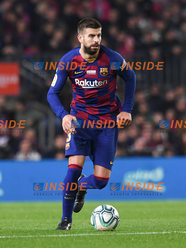 Gerard Pique<br /> 07/12/2019 <br /> Barcelona - Maiorca<br /> Calcio La Liga 2019/2020 <br /> Photo Paco Largo Panoramic/insidefoto <br /> ITALY ONLY