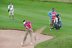 Scotland's Scott Jamerson in action during his round <br /> <br /> Golf - Day 2 - ISPS Handa Wales Open 2013 - Twenty Ten Course- Friday 30th August 2013 - Celtic Manor Resort  - Newport<br /> <br /> © www.sportingwales.com- PLEASE CREDIT IAN COOK