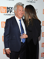 NEW YORK, NY - OCTOBER 01: Dustin Hoffmand and Lisa Hoffman  attends the New York Film Festival screening of The Meyerowitz Stories (New and Selected) at Alice Tully Hall on October 1, 2017 in New York City. <br /> CAP/MPI/JP<br /> &copy;JP/MPI/Capital Pictures