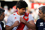 Madrid (03/03/2012).-Campo de Futbol de Vallecas..Liga BBVA..Rayo Vallecano-Real Racing Club..Diego Costa...©Alex Cid-Fuentes.......