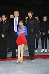 skaters, Trump, Hamilton, Tamara Tunie at the 2012 Skating with the Stars - a benefit gala for Figure Skating in Harlem celebrating 15 years on April 2, 2012 at Central Park's Wollman Rink, New York City, New York.  (Photo by Sue Coflin/Max Photos)