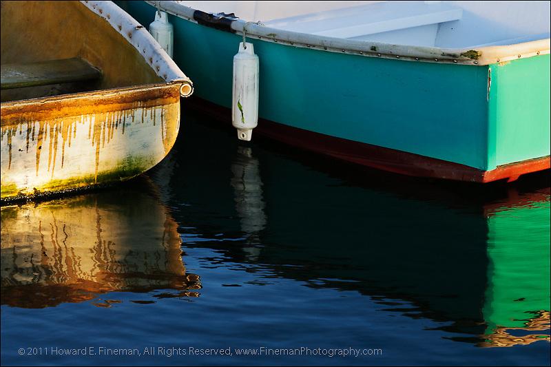 Skiffs at Dawn, Vineyard Haven