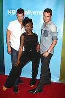 BEVERLY HILLS, CA - JULY 25: Kyle Robinson, Taja Riley and Nick Lazzarini at the 2012 NBC Universal summer TCA press tour day 2 at The Beverly Hilton Hotel on July 25, 2012 in Beverly Hills, California. © mpi25/MediaPunch Inc.