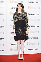 Emma Stone at the 2017 BAFTA Film Awards Nominees party held at Kensington Palace, London, UK. <br /> 11 February  2017<br /> Picture: Steve Vas/Featureflash/SilverHub 0208 004 5359 sales@silverhubmedia.com