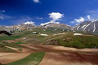 Italien, Umbrien, Hochebene in den Sibillinischen Bergen   Italy, Umbria, tableland at the Sibillini mountains