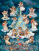 Interlitho-Simonetta, CHRISTMAS CHILDREN, WEIHNACHTEN KINDER, NAVIDAD NIÑOS, paintings+++++,13 angels,city,KL6099,#xk#