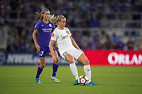 Orlando, FL - Saturday March 24, 2018: Utah Royals forward Elise Thorsnes (20) during a regular season National Women's Soccer League (NWSL) match between the Orlando Pride and the Utah Royals FC at Orlando City Stadium. The game ended in a 1-1 draw.