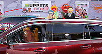 "HOLLYWOOD, LOS ANGELES, CA, USA - MARCH 11: Bill Barretta, Rowlf, Gonzo, Scooter, Walter, Animal at the World Premiere Of Disney's ""Muppets Most Wanted"" held at the El Capitan Theatre on March 11, 2014 in Hollywood, Los Angeles, California, United States. (Photo by Xavier Collin/Celebrity Monitor)"