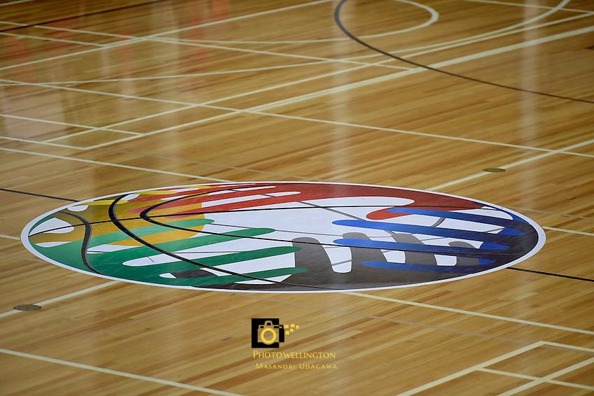 Action from the FIBA Oceania Under 16s Championship Tournament - New Caledonia v Australia at St Pat's Silverstream, Upper Hutt, New Zealand on Monday 17 August 2015.<br /> Photo by Masanori Udagawa. <br /> www.photowellington.photoshelter.com.