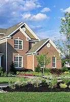 New single family home construction, New Jersey, USA.