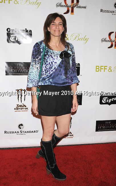 """HOLLYWOOD, CA. - November 17: Laura Silverman arrives at the """"BFF & Baby"""" Official Film Wrap Party at the Colony on November 17, 2010 in Hollywood California."""