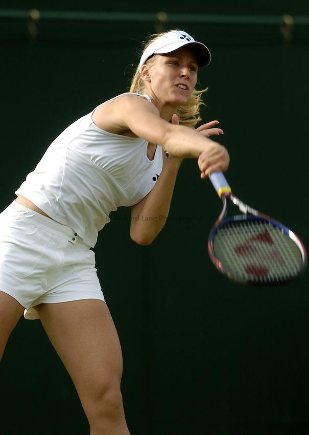 Photo. Jed Wee..Wimbledon Championships. 20/06/2005..Elena Dementieva.