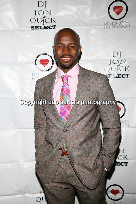 Darnell Attends The 4th Annual Beauty and the Beat: Heroines of Excellence Awards Honoring Outstanding Women of Color on the Rise Hosted by Wilhelmina and Brand Jordan Model Maria Clifton Held at the Empire Room, NY 3/22/13