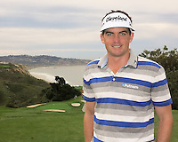 23 JAN 13  Keegan Bradley pauses during The Farmers Insurance Open at Torrey Pines Golf Course in La Jolla, California. (photo:  kenneth e.dennis / kendennisphoto.com)